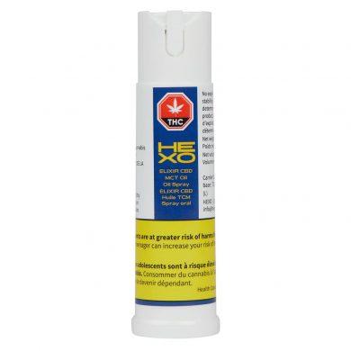 hexo cbd oil bottle