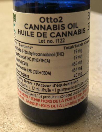 whistler otto2 cbd oil